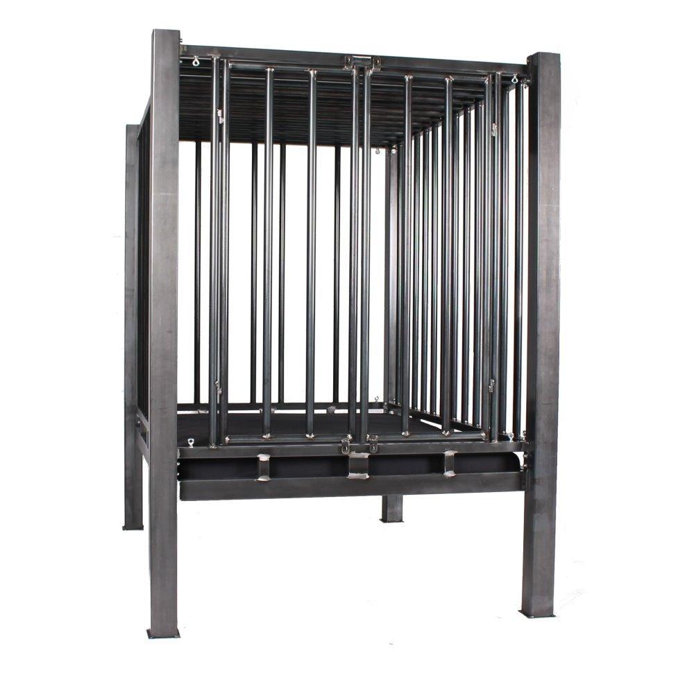Stahlbett mit Käfig, solides BDSM Metall Himmelbett, 2.300,00 €