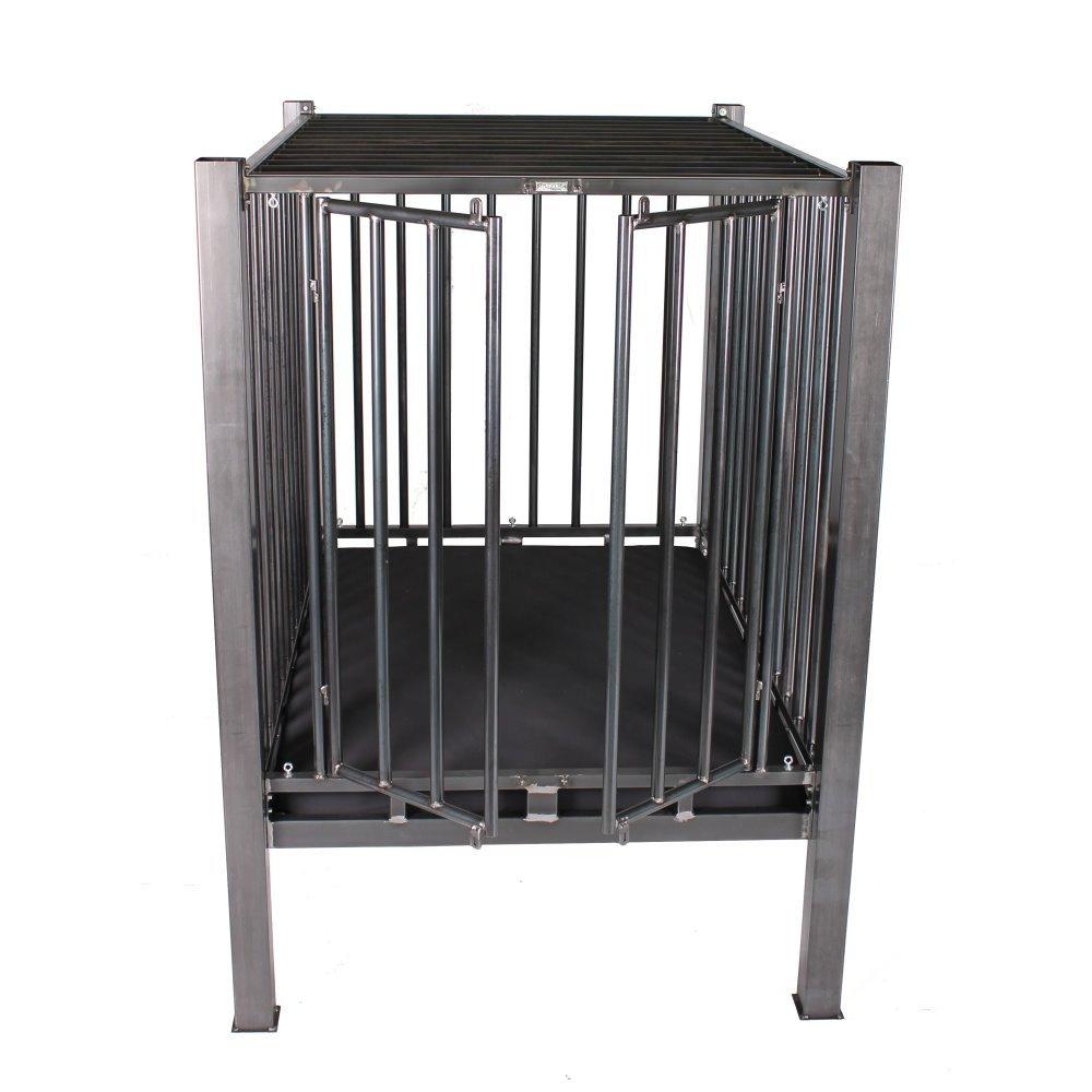 stahlbett mit k fig solides bdsm metall himmelbett. Black Bedroom Furniture Sets. Home Design Ideas