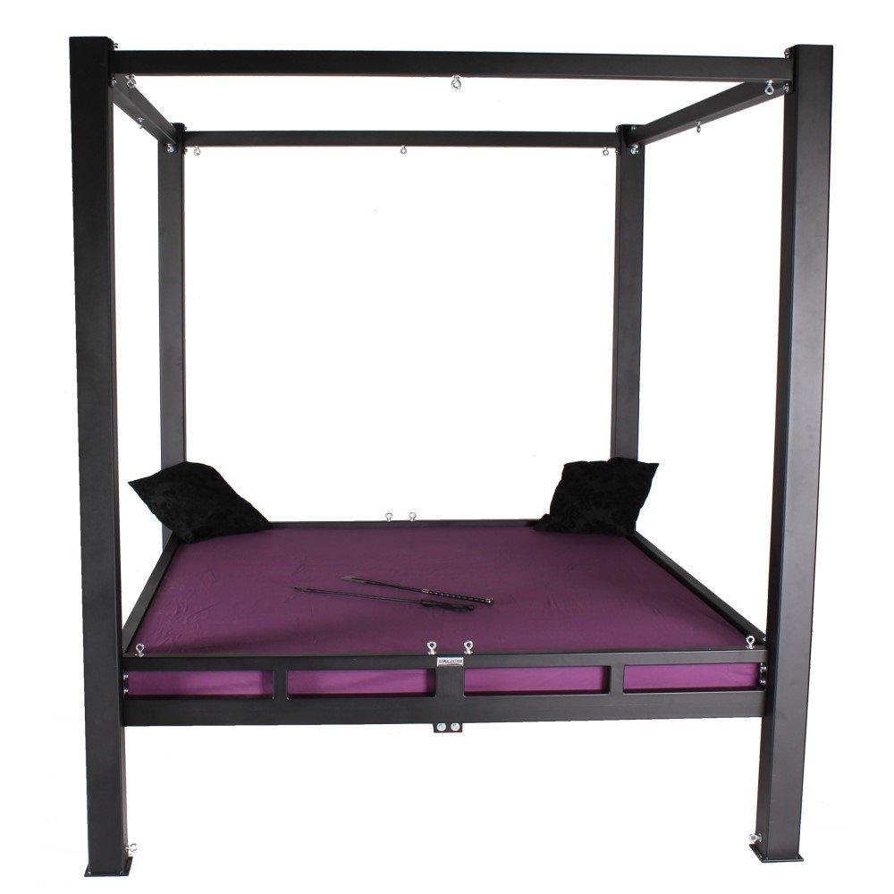 Stahlbett mit Himmel, solides BDSM Metall Himmelbett, 1.449,00 €