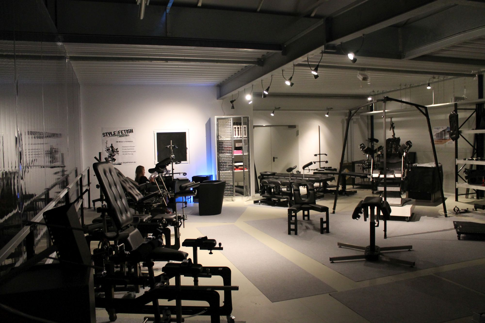 BDSM Equipment Showroom